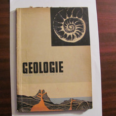 "AF - ion BANCILA ""Geologie / Manual pentru Clasa a XI - a"" / 1964"