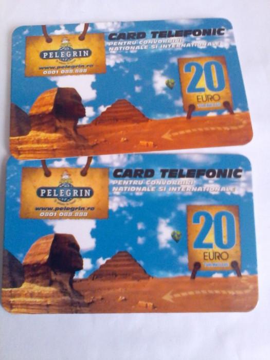 Cartele Card Pelegrin 20 Euro