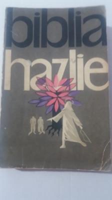 myh 42S - BIBLIA HAZLIE - L TAXIL - ED 1962 foto