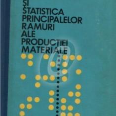 Statistica economica si statistica principalelor ramuri ale productiei materiale