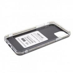 Husa iPhone 11 Pro Dura Cu Sclipici Neagra