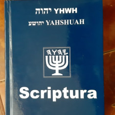 Sfanta Scriptura Yahshuah - CARTEA ESTE CA NOUA . ESTE RARA !