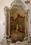 Oglinda baroc venetian/rococo/Ludovic/Silik, Italia,vintage/antic,1,62m H, 1900 - 1949