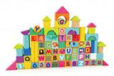 Cuburi pentru construit 100 piese - Animalute jucause