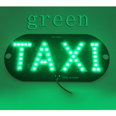 Placuta cu led, indicator taxi, 45 smd 3528, lumina verde