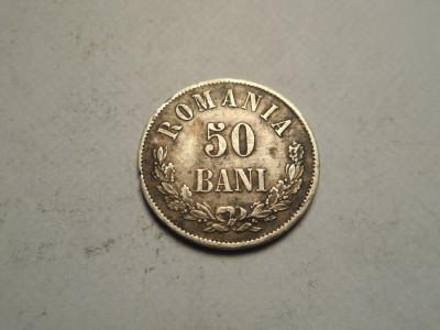 50 bani 1873 Patina Frumoasa foto