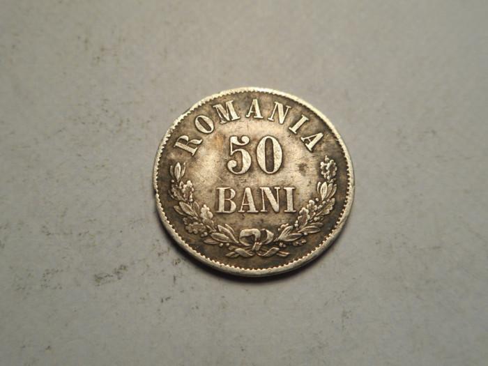 50 bani 1873 Patina Frumoasa