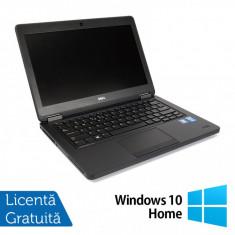 Laptop DELL Latitude E5450, Intel Core i7-5600U 2.60GHz, 8GB DDR3, 500GB SATA, 14 Inch + Windows 10 Home
