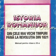 Istoria Romanilor. Manual Pentru Clasa A XI-a - Mihai Manea, Adrian Pascu