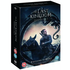 Film Serial The Last Kingdom DVD Complete Collection Seasons1-3
