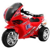 Motocicleta electrica pentru copii, comenzi sonore RR1000, rosu