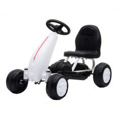 Kart cu pedale Moni Blaze White
