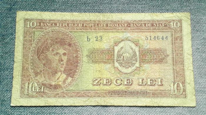 10 Lei 1952 Romania