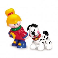 Figurine Cei mai buni prieteni First Friends Tolo, fetita si catelus