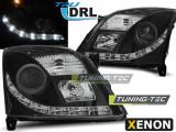 Faruri compatibile cu Opel VECTRA C 04.02-08.05 TRU DRL Negru XENON D2S