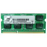 Memorie notebook G.Skill F3, 4GB, DDR3, 1600MHz, CL11, 1.35v