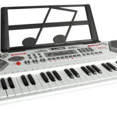 Orga electronica pentru Copii, cu microfon si 10 melodii demo, 54 clape