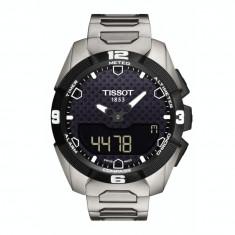 Ceas barbatesc Tissot T-Touch Expert Solar T091.420.44.051.00 / T0914204405100, Elegant, Quartz, Titan