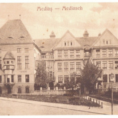 3586 - MEDIAS, Sibiu, Romania - old postcard - used - 1929