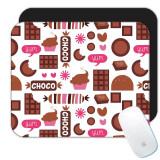 Desert cu ciocolata : Cadou Mouse pad : Clare model Candy Bite Hearts Copii de bucatarie Decor de perete dulciuri, Generic