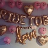 Set Baloane Bride to be speciale pentru petrecerea burlacitelor