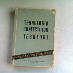 TEHNOLOGIA CONFECTIILOR DIN TESATURI