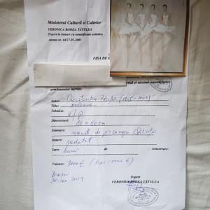Tablou semnat Constantin Piliuta.