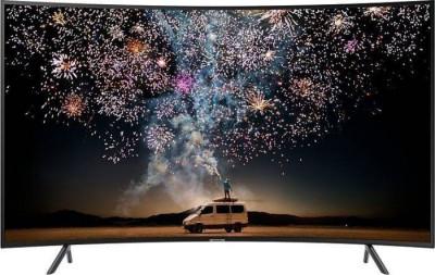 Televizor Samsung LED Smart TV Curbat 65RU7372 165cm Ultra HD 4K Black foto