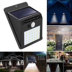 Lampa solara cu senzor miscare IR IP65 30 LED 2W 300 lm