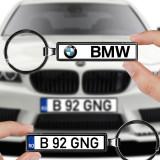 Breloc numar auto BMW