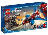 Cumpara ieftin LEGO Marvel Super Heroes - Spiderjet contra Robotul Venom 76150