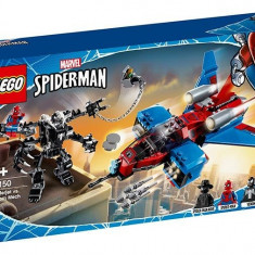 LEGO Marvel Super Heroes - Spiderjet contra Robotul Venom 76150