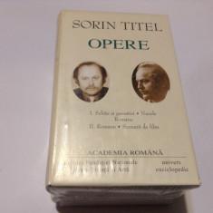 Sorin Titel - OPERE 2 VOLUME---RF15/2