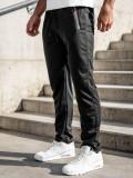 Pantaloni de trening negri fără elastic Bolf JX1052