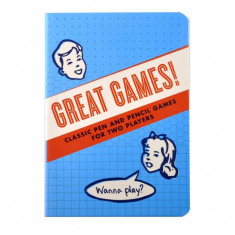 Carnet - Great Games | The Unemployed Philosophers Guild