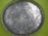 Superba tava argintata, filigranata