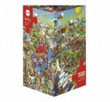 Cumpara ieftin Puzzle Heye History River, 1500 piese
