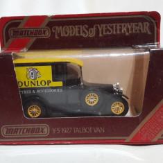 1927 Talbot Van - Matchbox