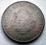 R.101 ROMANIA RSR 1 LEU 1966 VARIANTA RARA