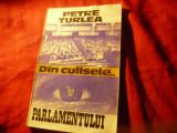 Petre Turlea - Din culisele Parlamentului vol.1 1990-1992 -Ed.Globus 1994 ,188p