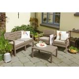 Set mobilier gradina cappuccino Keter Delano