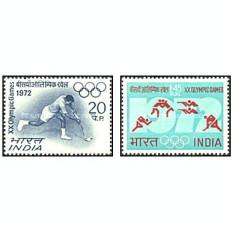 India 1972 - JO Munich, serie neuzata