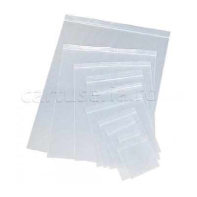 Punga Zip cu fermoar dimensiune 60x80 mm 100 bucati foto