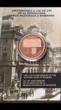 Moneda tombac 130 de ani de la înfiinţarea Băncii Naţionale a României