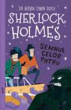 Sherlock Holmes. Semnul celor patru/Arthur Conan Doyle, Stephanie Baudet, Curtea Veche Publishing