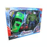 Cumpara ieftin Masina cu radio comanda si figurina Hulk