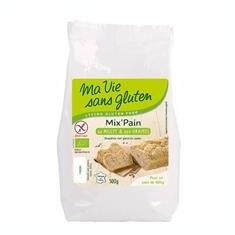 Amestec Bio pentru Paine cu Mei Fara Gluten Ma Vie Sans Gluten 500gr Cod: 3380380057786