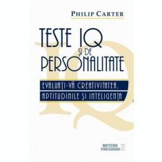 Teste IQ și de personalitate