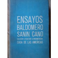 Ensayos - Baldomero Sanin Cano ,308102