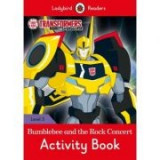 Transformers Bumblebee and the Rock Concert Activity Book